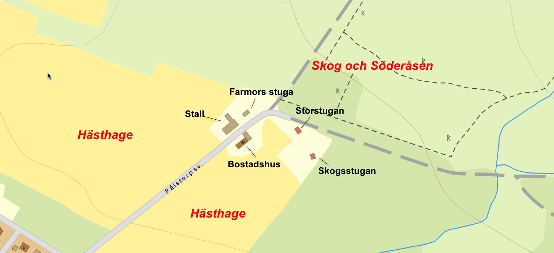 Karta gården